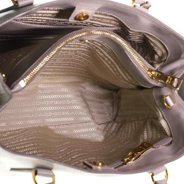Prada Gardener's Tote Saffiano Leather Medium For Sale 1