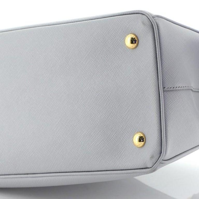 Prada Gardener's Tote Saffiano Leather Medium For Sale 2