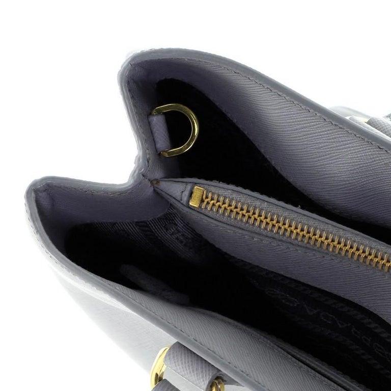 Prada Gardener's Tote Saffiano Leather Medium For Sale 4