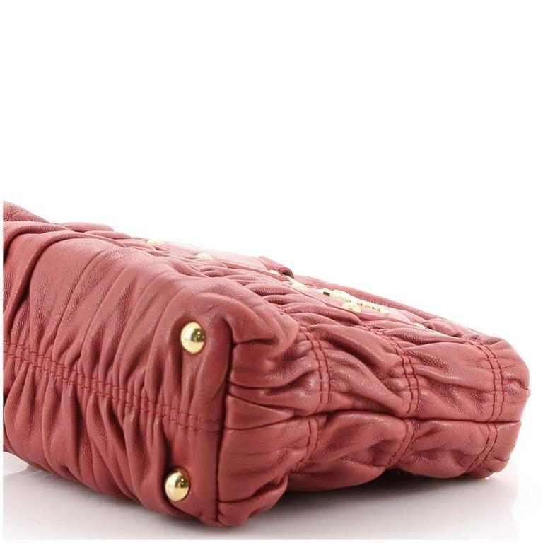 Women's or Men's Prada Gaufre Convertible Tote Nappa Leather Mini
