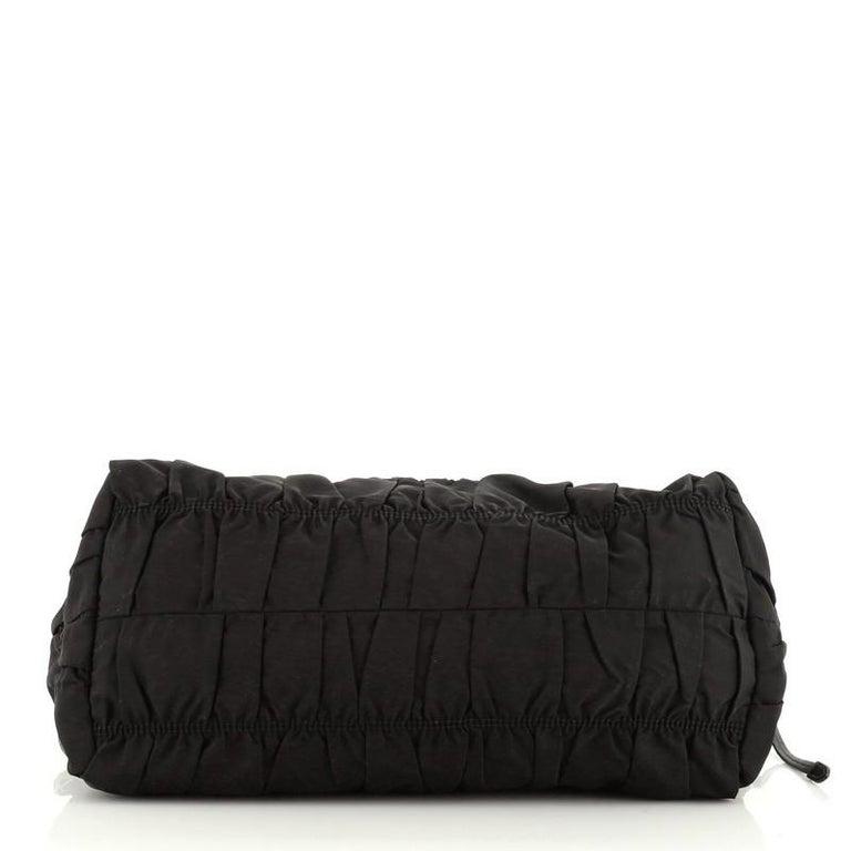 Women's or Men's Prada Gaufre Convertible Tote Tessuto Medium For Sale
