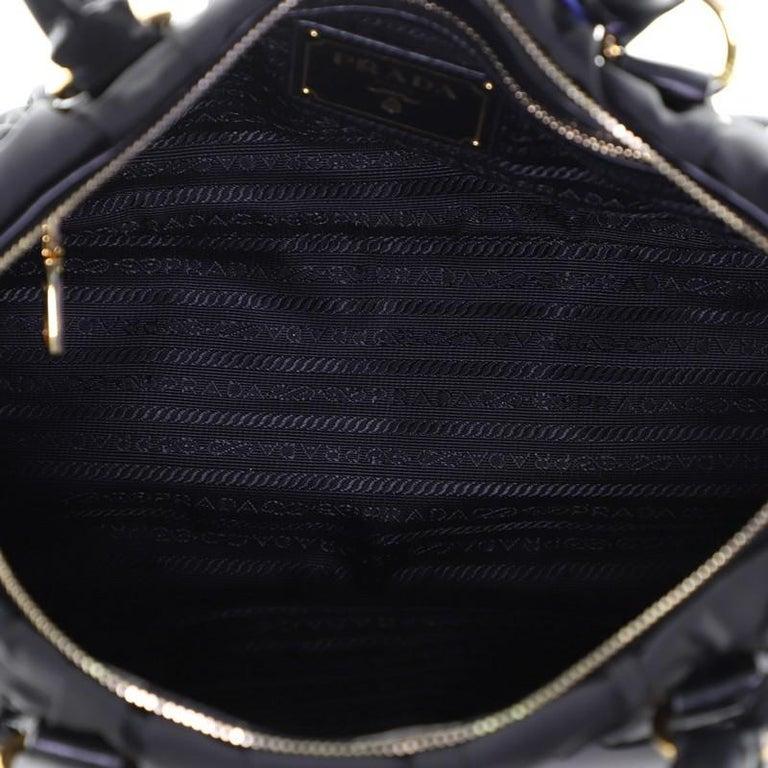 Prada Gaufre Convertible Tote Tessuto Medium For Sale 1