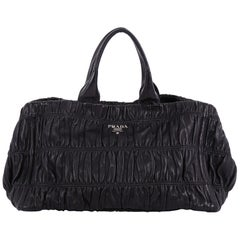 Prada Gaufre Shopping Tote Nappa Leather Large