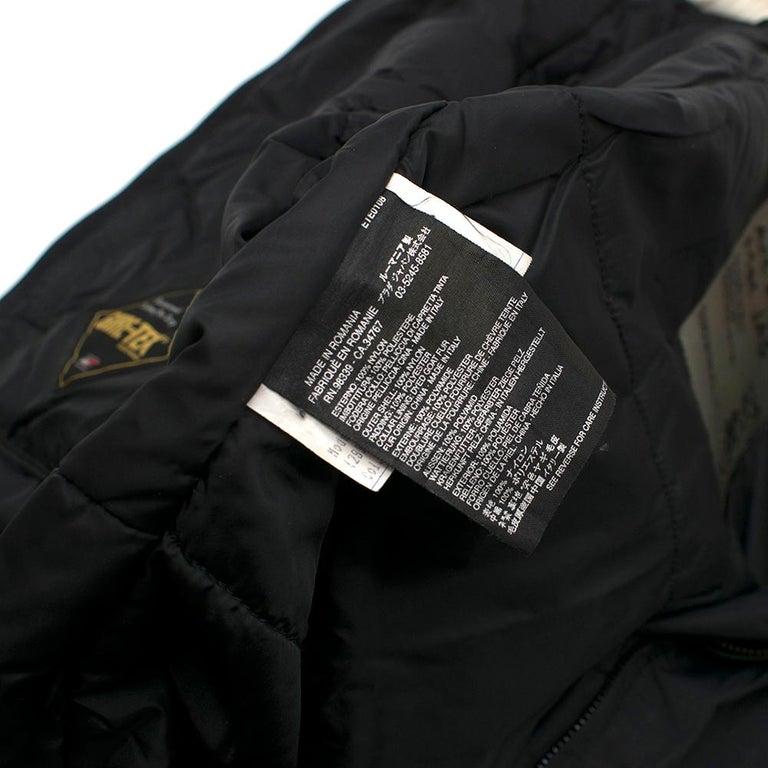 Prada Gore-Tex Fur detailed Jacket XS For Sale 5