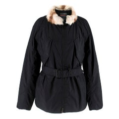 Prada Gore-Tex Fur detailed Jacket XS