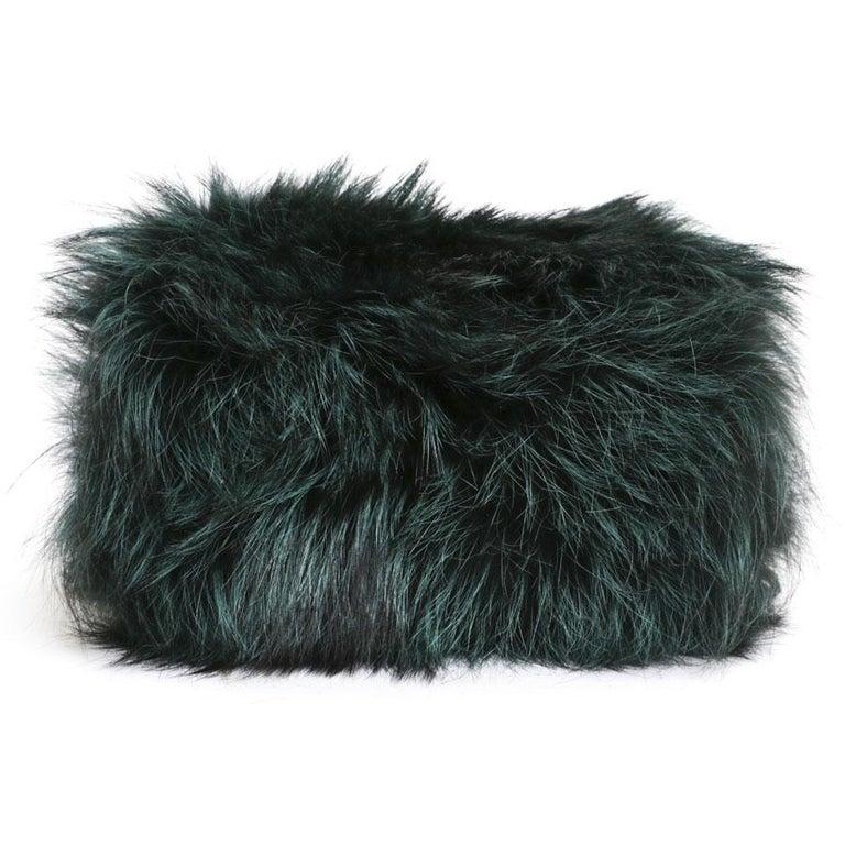 Women's Prada Green Bag In Fox And Lizard For Sale