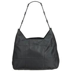 Prada Green Dark Green Nylon Fabric Shoulder Bag Italy