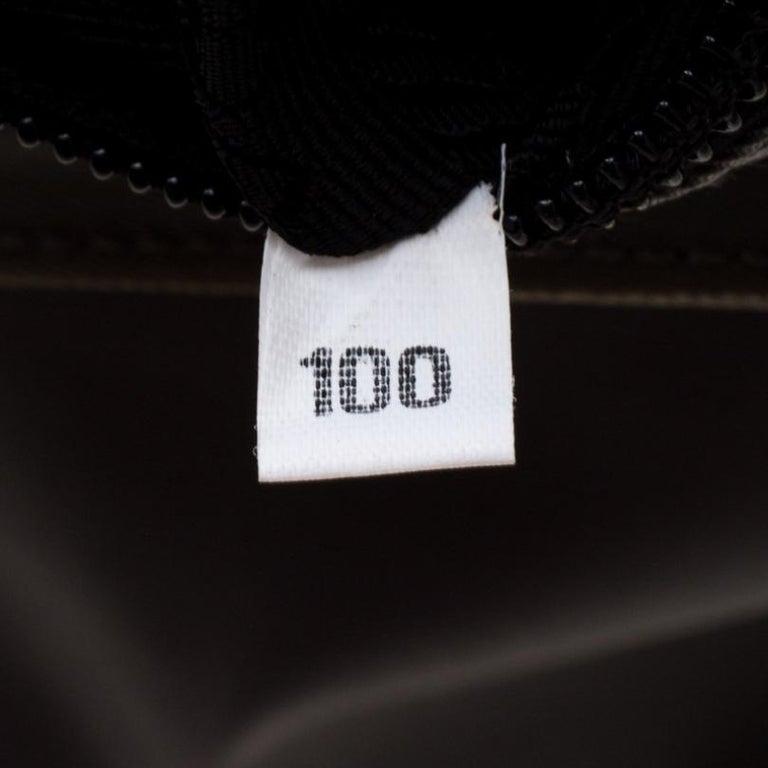 Prada Green Nylon Metal Handle Shoulder Bag For Sale 2