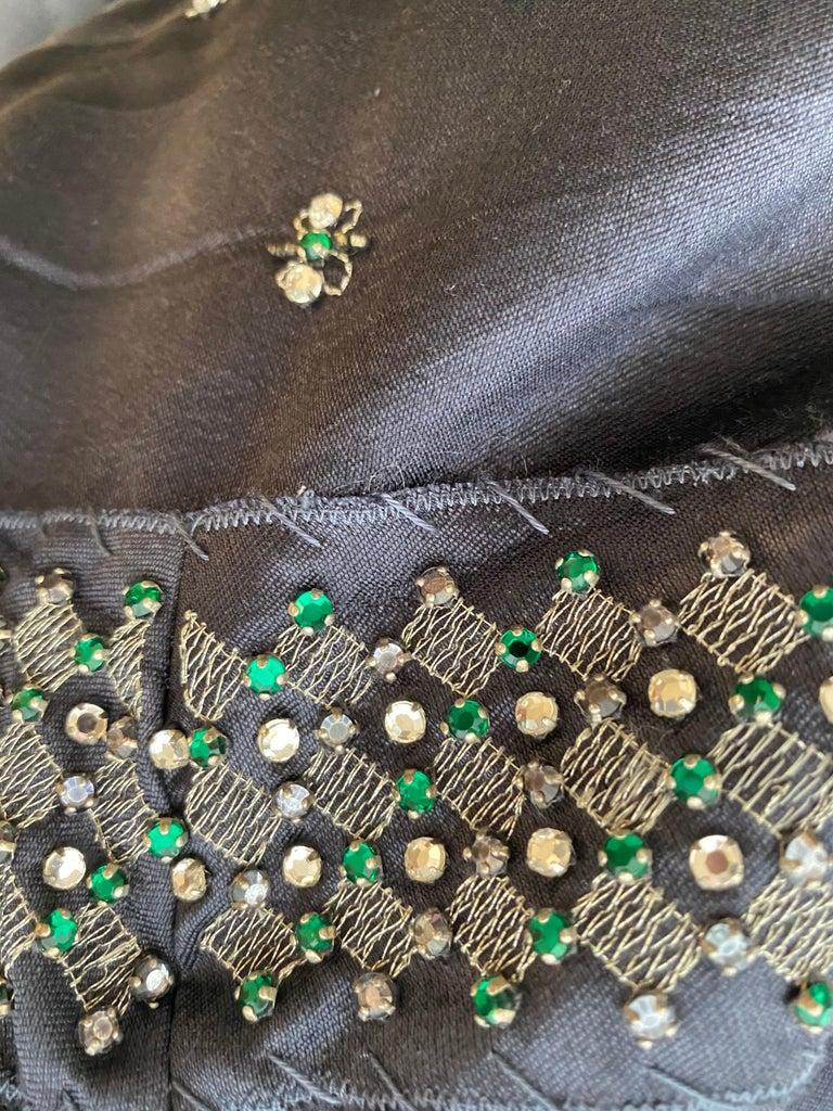 Women's Prada Grey  Silk strapless cocktail Dress For Sale