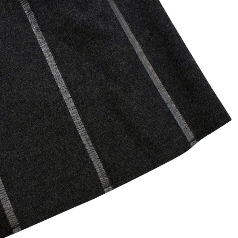Black Prada Grey Wool Tailored Dress & Jacket - Size US 6 For Sale