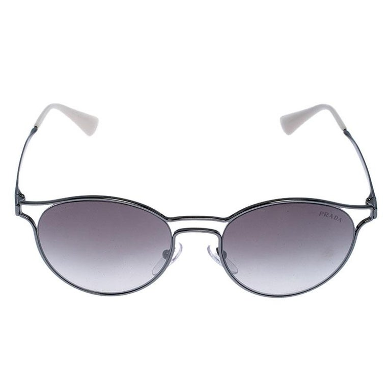 Luxury accessories are always a prize to own as they are so designed to last and also to make you look fashionable. This creation from Prada is a fitting example. The stylish frame comes fitted with mirror lenses offering ample protection and the