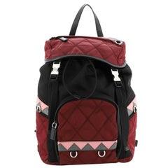 Prada Impunto Backpack Tessuto Large