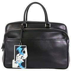 Prada James Jean Duffle Bag Leather Large