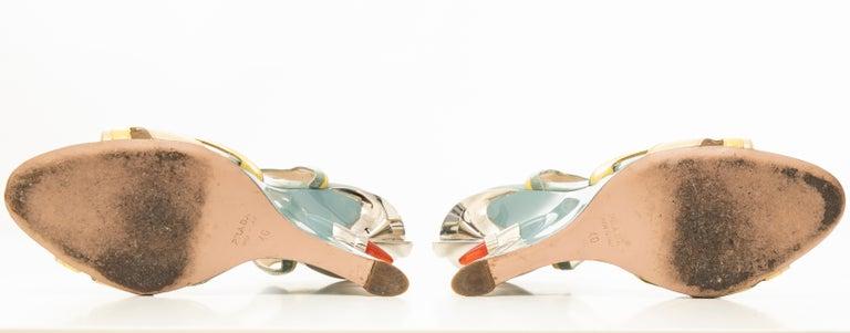 Prada Jewel Taillight Wedge Sandal, Spring 2012 For Sale 11