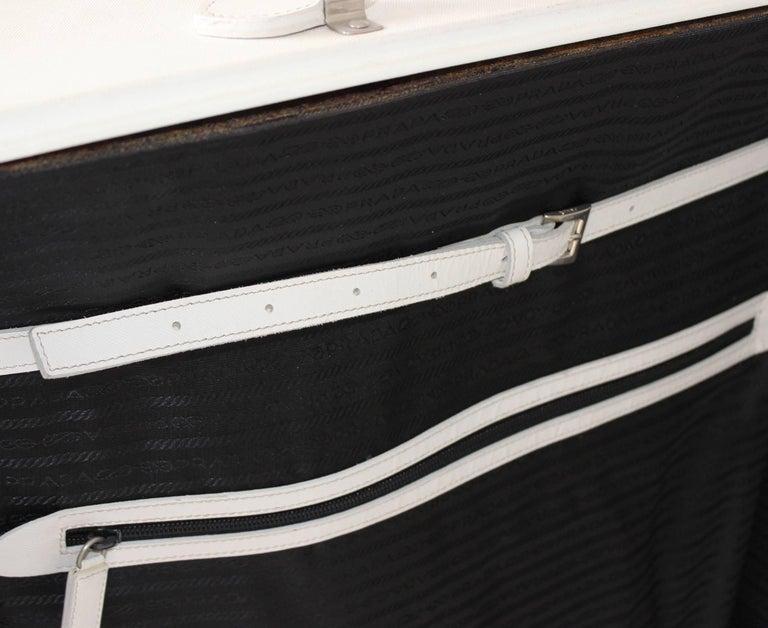 5826edeffe1 Other Prada Large White Suitcase