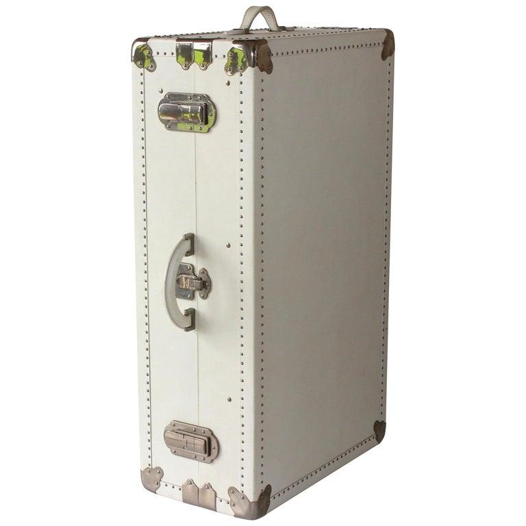 1d29afb8fbf Prada Large White Suitcase