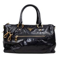 Prada Leather Duffle Bag
