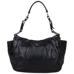 Prada Leather Hobo Bag