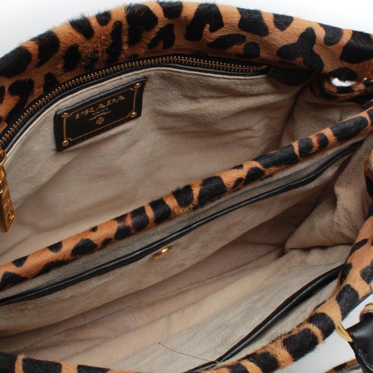 Women's PRADA Leopard Print Handbag For Sale