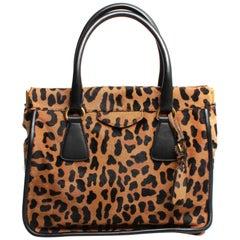 PRADA Leopard Print Handbag