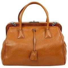 Prada Light Brown Doctor's Bag