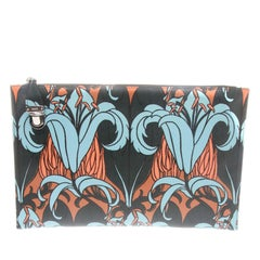 Prada Lily Print Pouch Document Holder