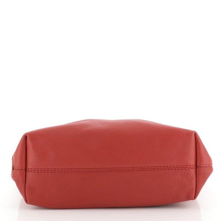 Women's or Men's Prada Logo Embossed Convertible Tote Vitello Daino Large For Sale