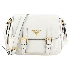 Prada Lux Messenger Bag Vitello Daino Small