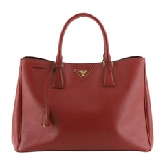 Prada Lux Open Tote Saffiano Leather Large
