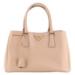 Prada Lux Open Tote Saffiano Leather Small