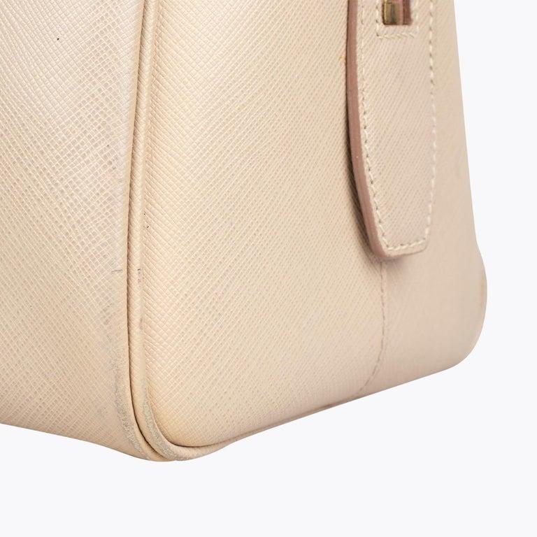 Prada Lux Saffiano Zip Bag For Sale 5