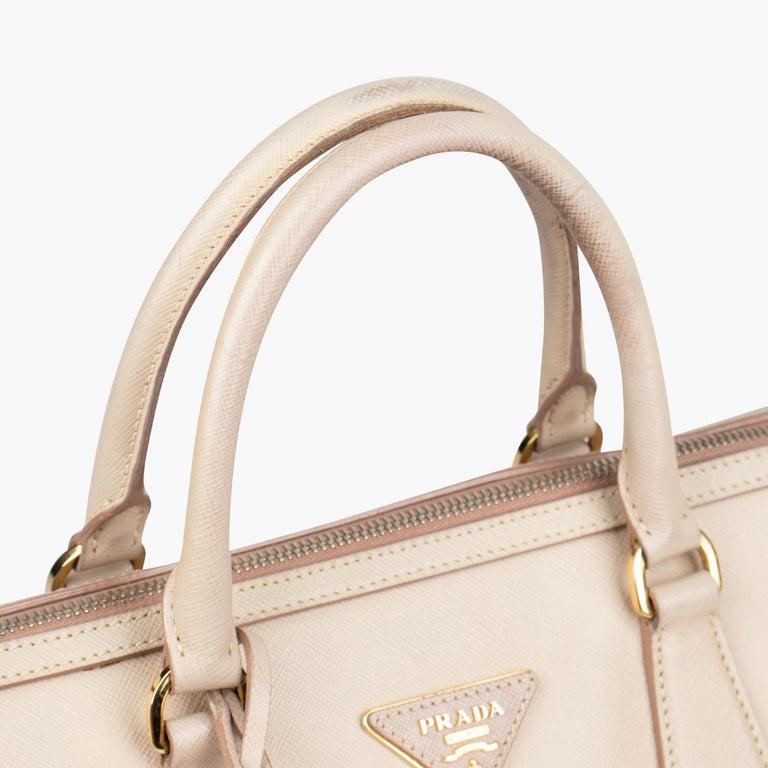 Women's Prada Lux Saffiano Zip Bag For Sale