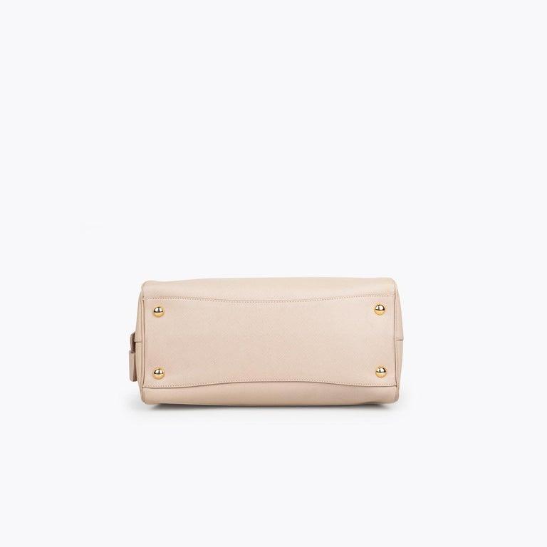 Prada Lux Saffiano Zip Bag For Sale 1