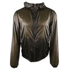 PRADA M Charcoal Polyamide Jacket