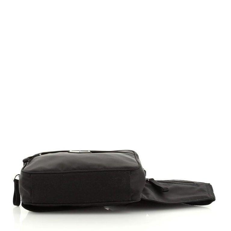 Prada Montagna Belt Bag Tessuto Small For Sale 1
