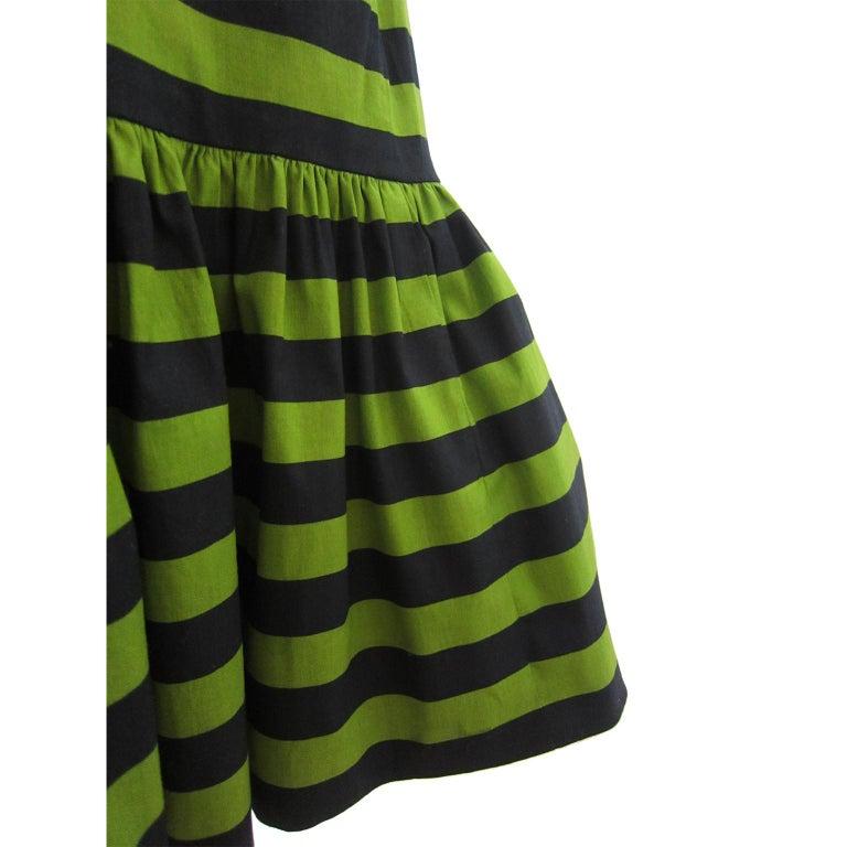 Prada Multi Colour Stripe Dress ss 2011 In Good Condition For Sale In Berlin, DE