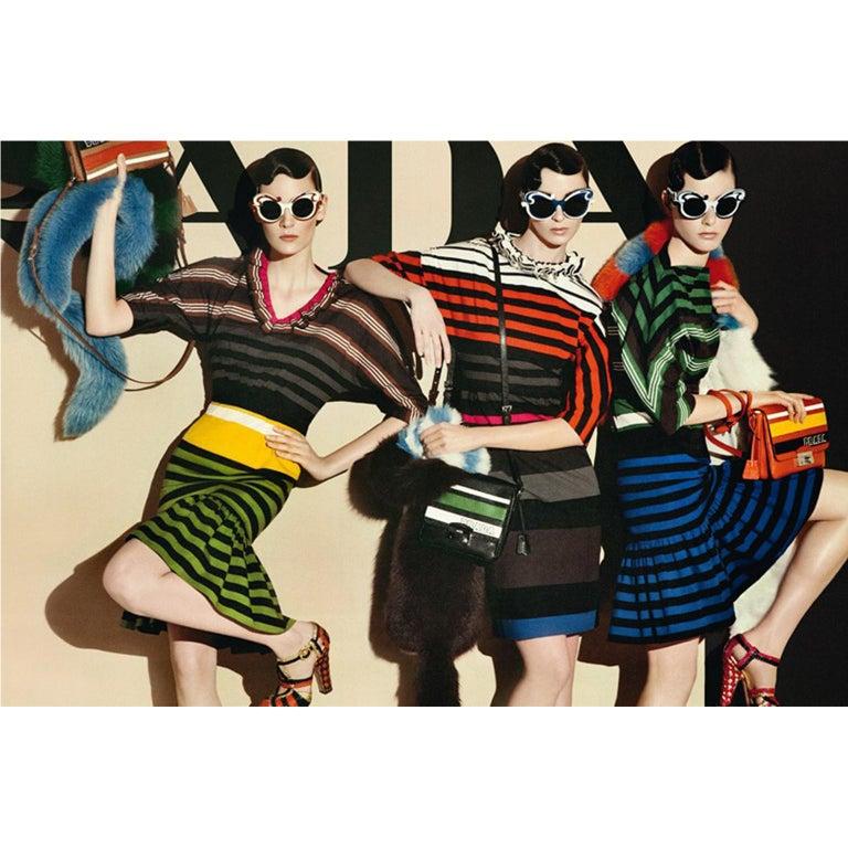 Prada Multi Colour Stripe Dress ss 2011 For Sale 3