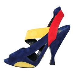 Prada Multicolor Sandal 38,5