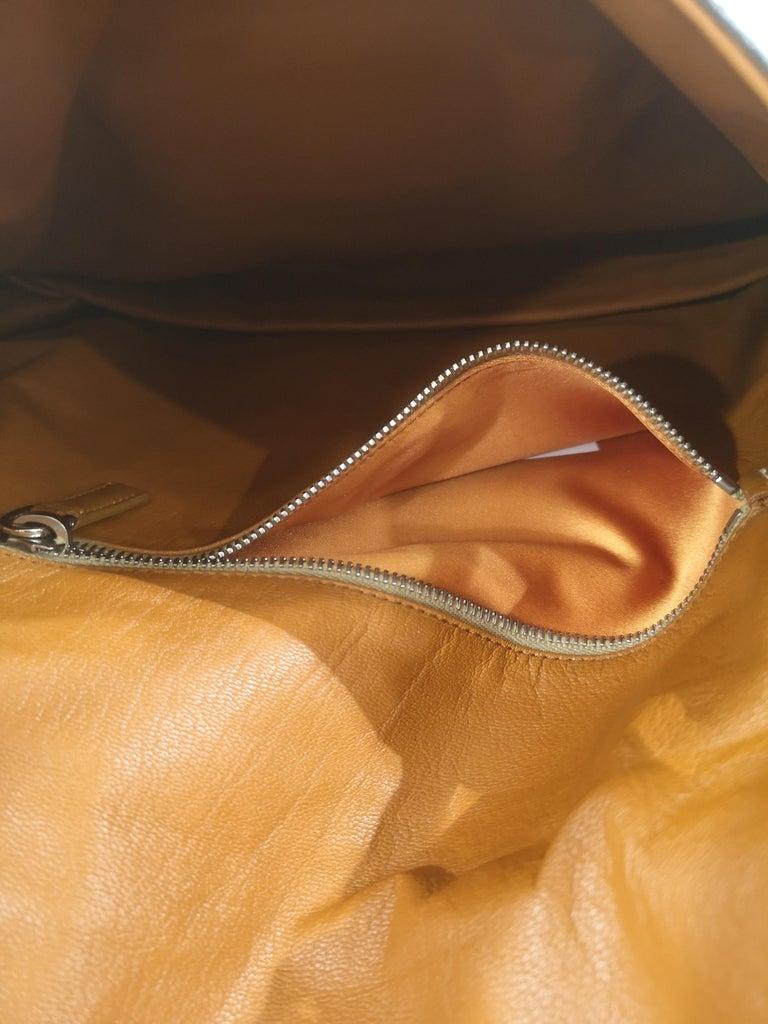 Prada multicoloured python leather shoulder bag For Sale 5