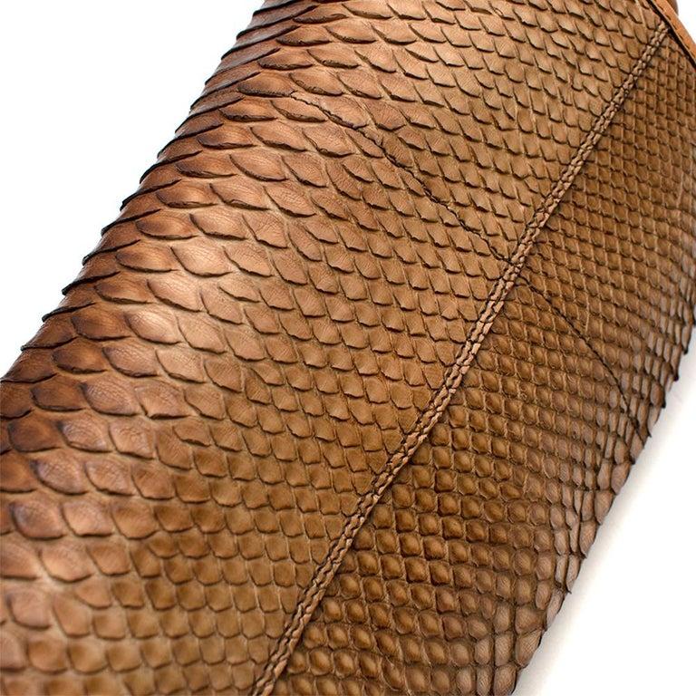 Women's or Men's Prada Natural Snakeskin Western Inspired Boots - Size EU 37.5 For Sale