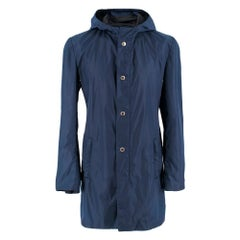 Prada Navy Blue Nylon Water-Proof Jacket M