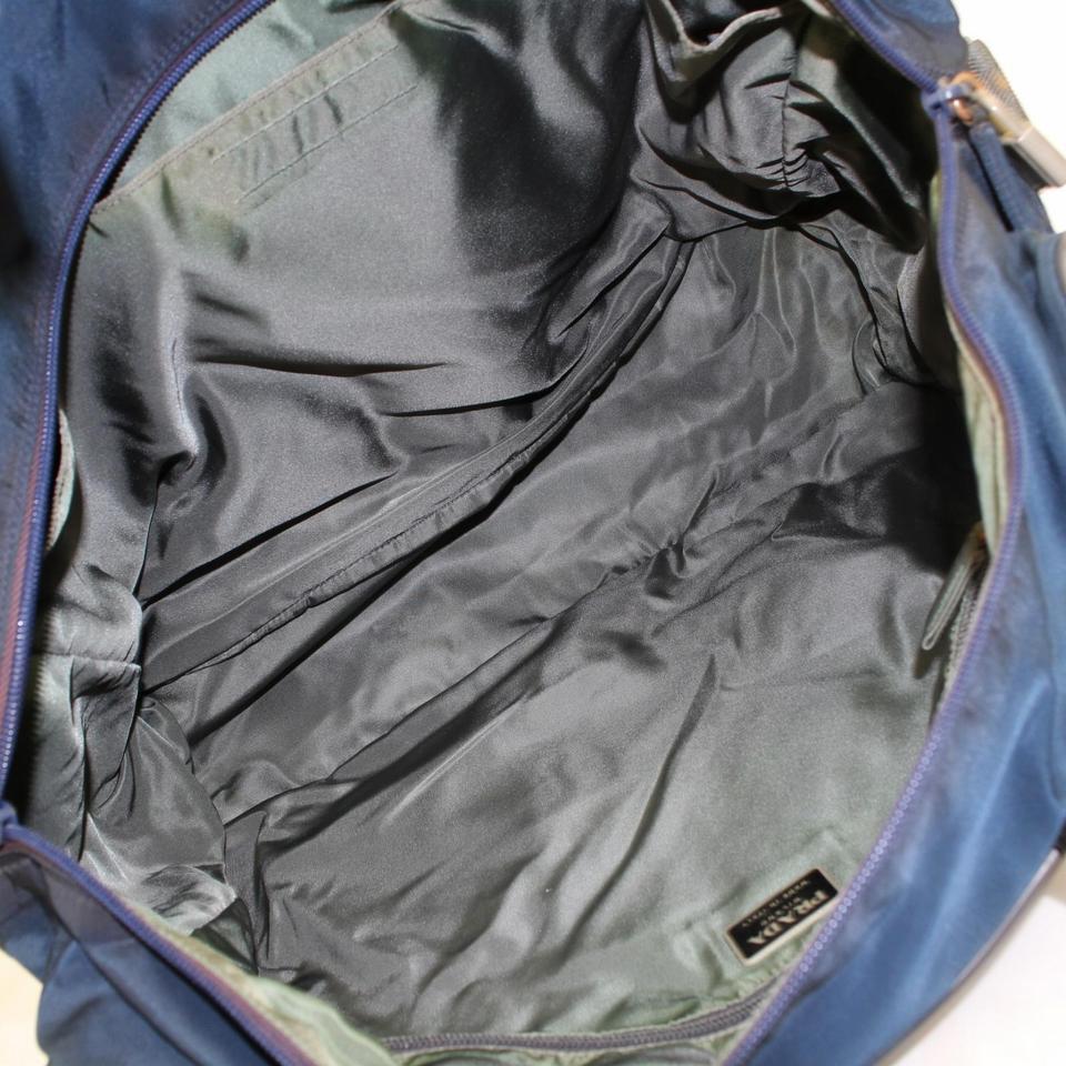 6535c7b279f2 Prada Navy Tessuto Sports Tote 868071 Blue Nylon Weekend/Travel Bag For Sale  at 1stdibs