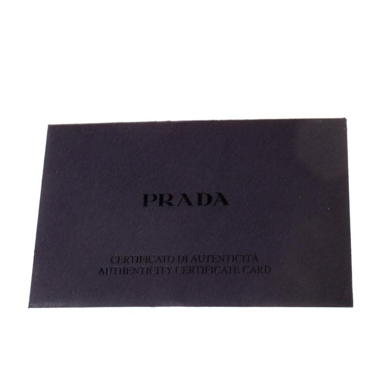 Prada Nude Saffiano Lux Leather Large Double Zip Tote For Sale 3