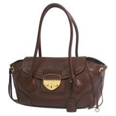 PRADA one shoulder Womens shoulder bag BR3116 brown x gold hardware