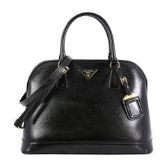 Prada Open Promenade Bag Vernice Saffiano Leather Large