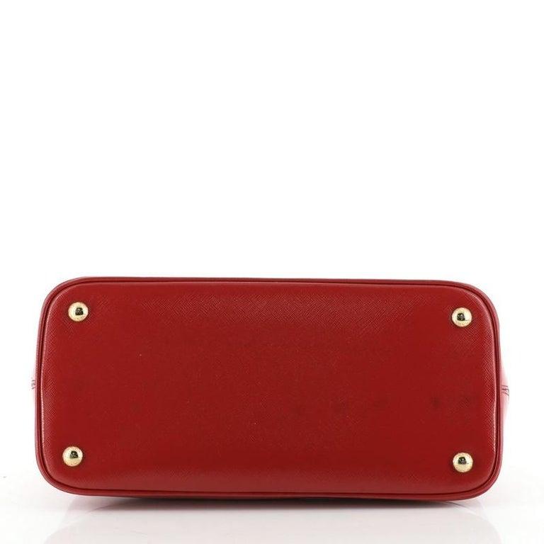 Women's or Men's Prada Open Promenade Bag Vernice Saffiano Leather Medium For Sale