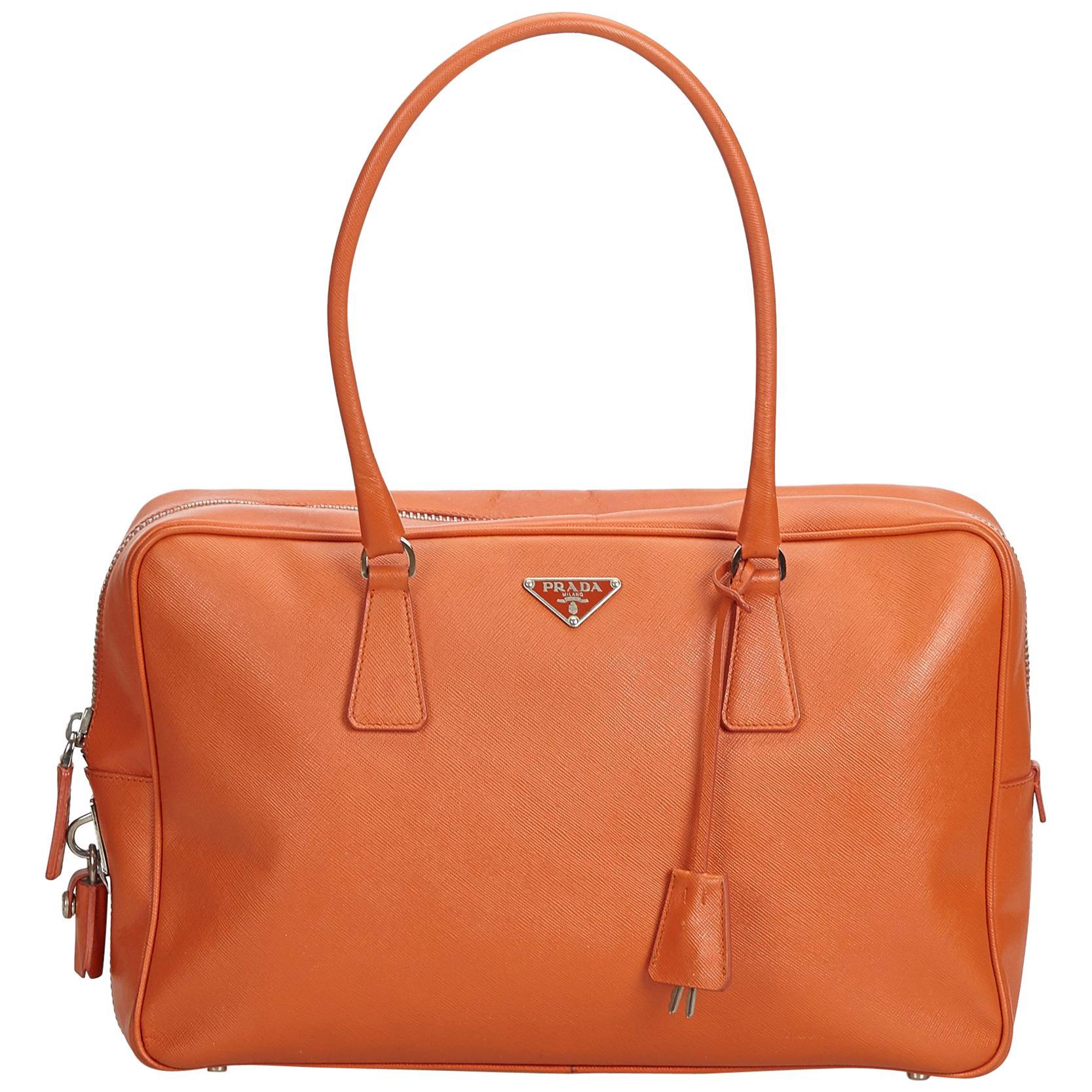 9a17c8bc8457 Prada Promenade Bag Saffiano Leather Small For Sale at 1stdibs
