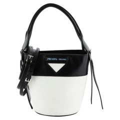 Prada Ouverture Bucket Bag Leather