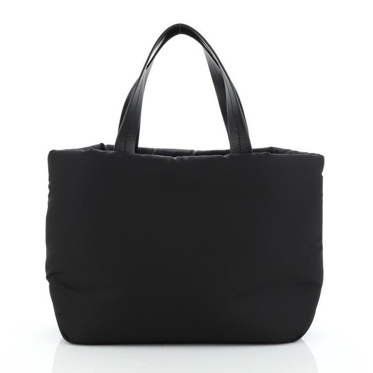 Prada Padded Tote Tessuto Small In Good Condition For Sale In New York, NY