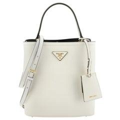 Prada Panier Bucket Bag Saffiano Leather Medium